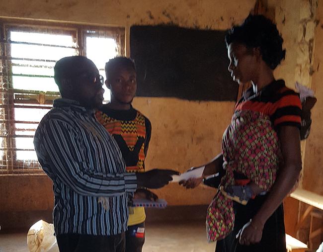 APTICA supports seventeen visually impaired students in Bamenda, Northwest region Cameroon